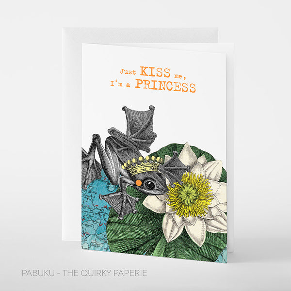 Princess Kiss Card - Northlight Homestore