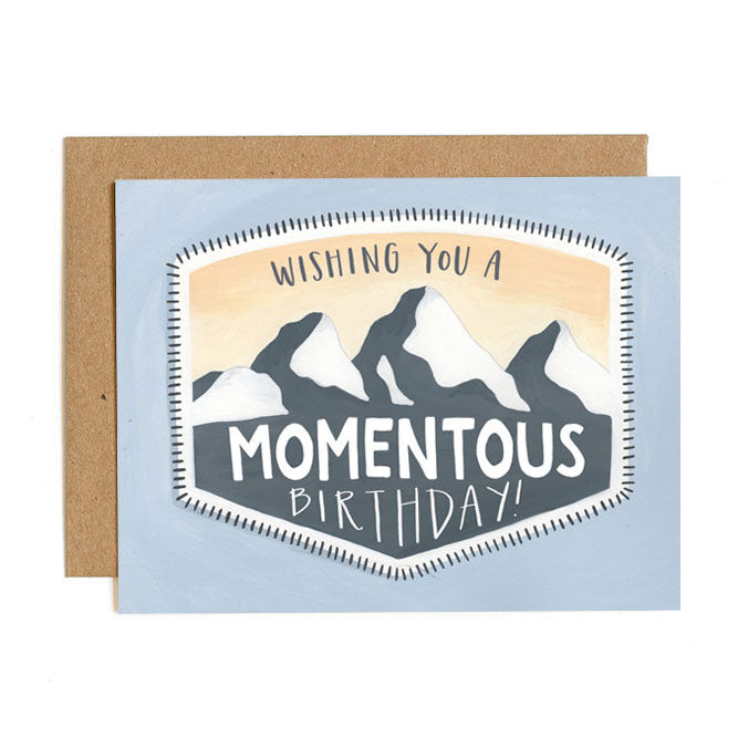 Momentous Birthday Card - Northlight Homestore