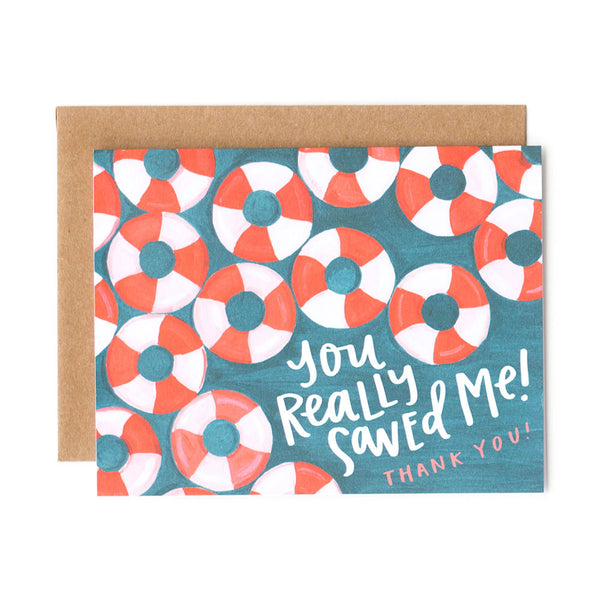 You Saved Me Card - Northlight Homestore