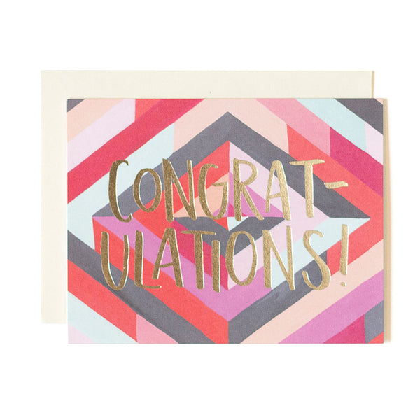 Diamond Congratulations Card - Northlight Homestore