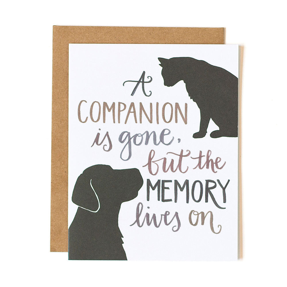 Pet Sympathy Card - Northlight Homestore