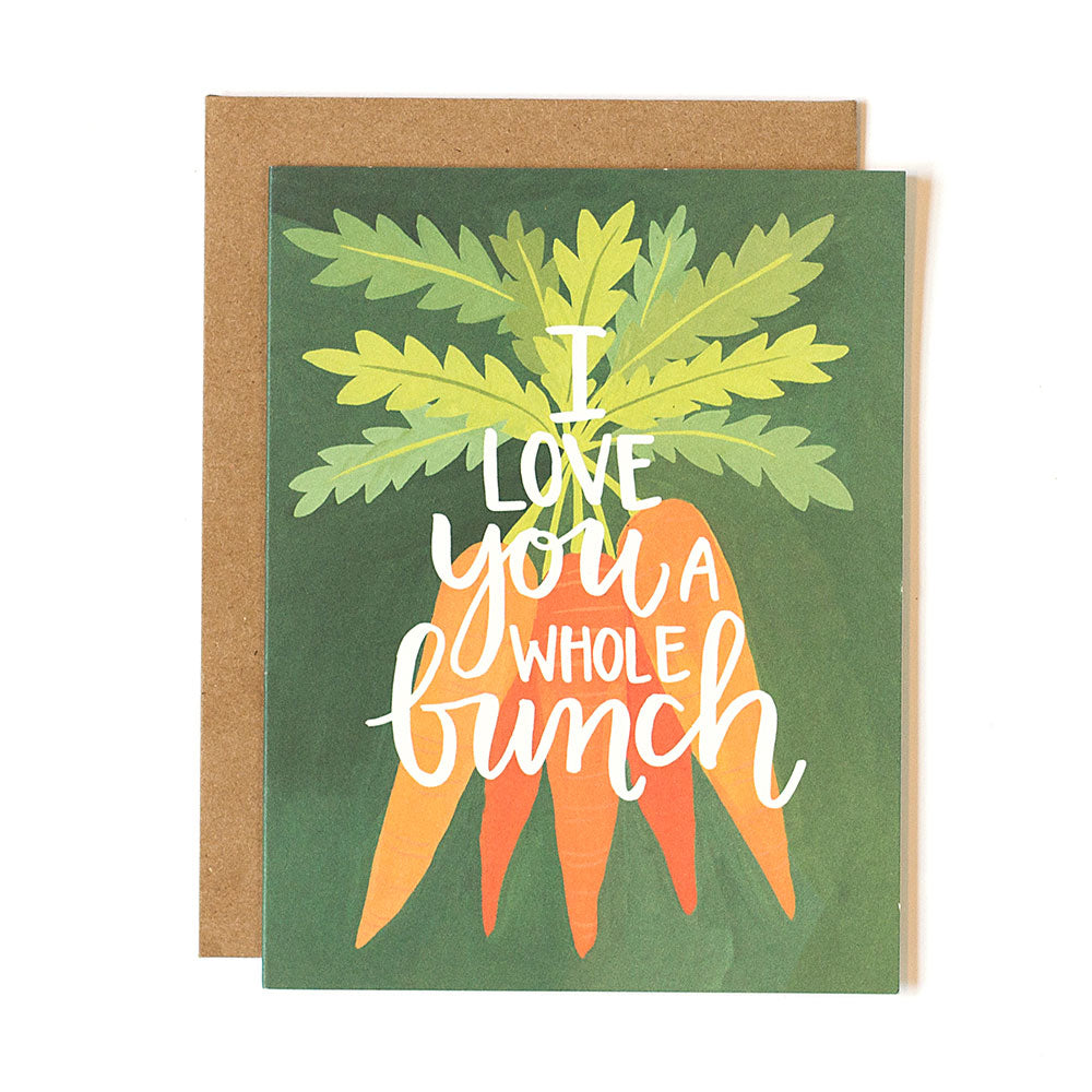 Carrots Love Card - Northlight Homestore