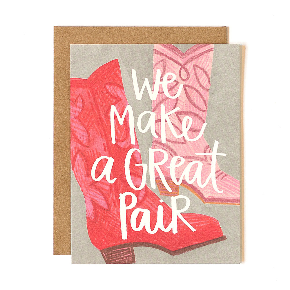 We Make A Great Pair Card - Northlight Homestore