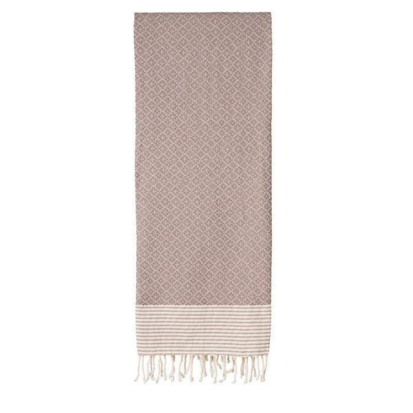 Frizzy Not Fuzzy Light Brown Fouta - Northlight Homestore