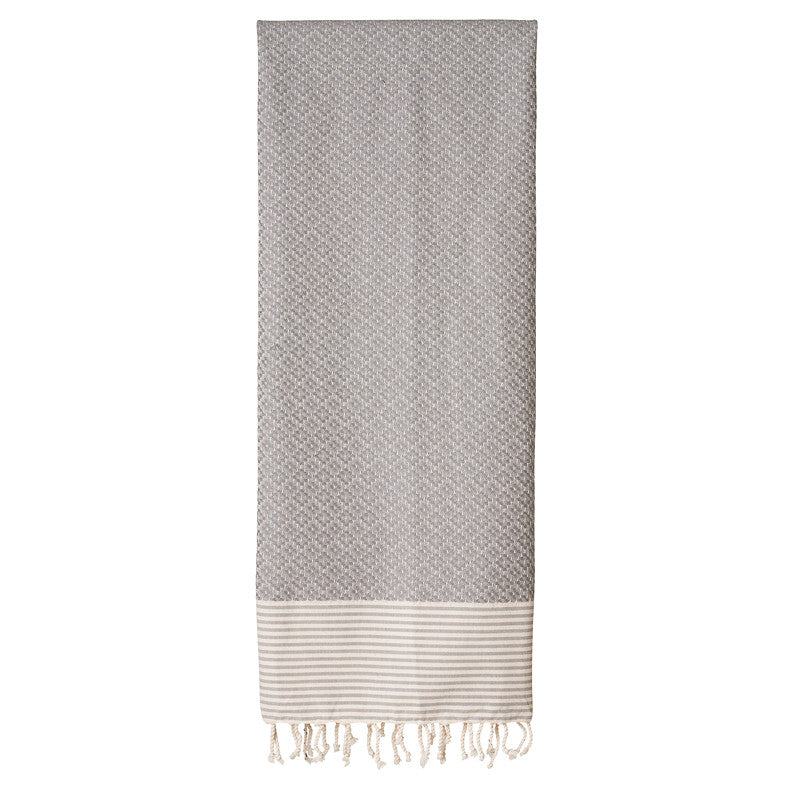 Frizzy Not Fuzzy Grey Fouta - Northlight Homestore