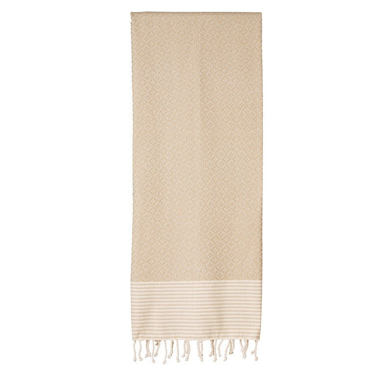 Frizzy Not Fuzzy Khaki Fouta - Northlight Homestore