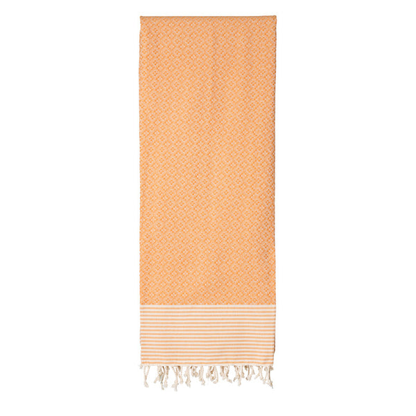 Frizzy Not Fuzzy Orange Fouta - Northlight Homestore