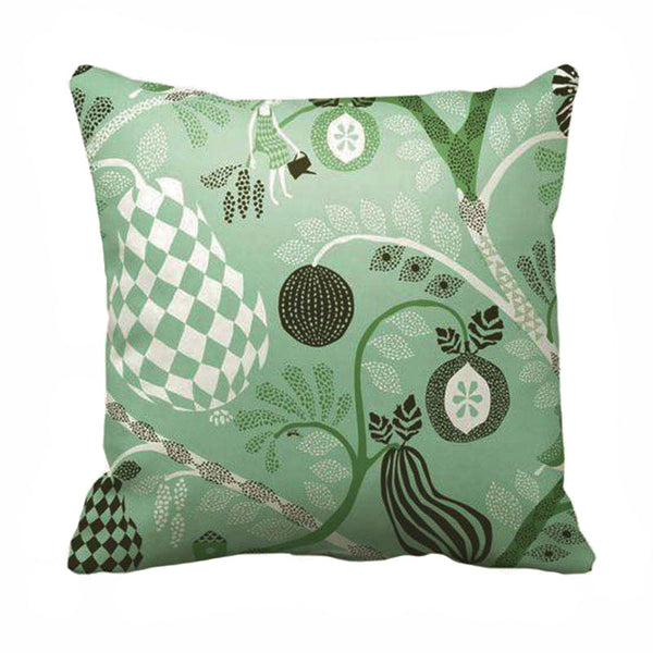 Fruit Garden Mint 50x50cm Cotton Cushion Cover