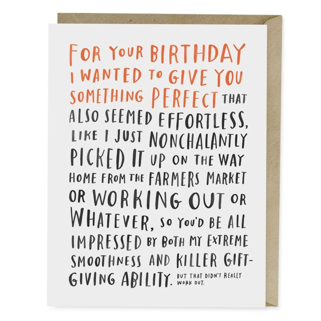 Awkward Birthday Card - Northlight Homestore
