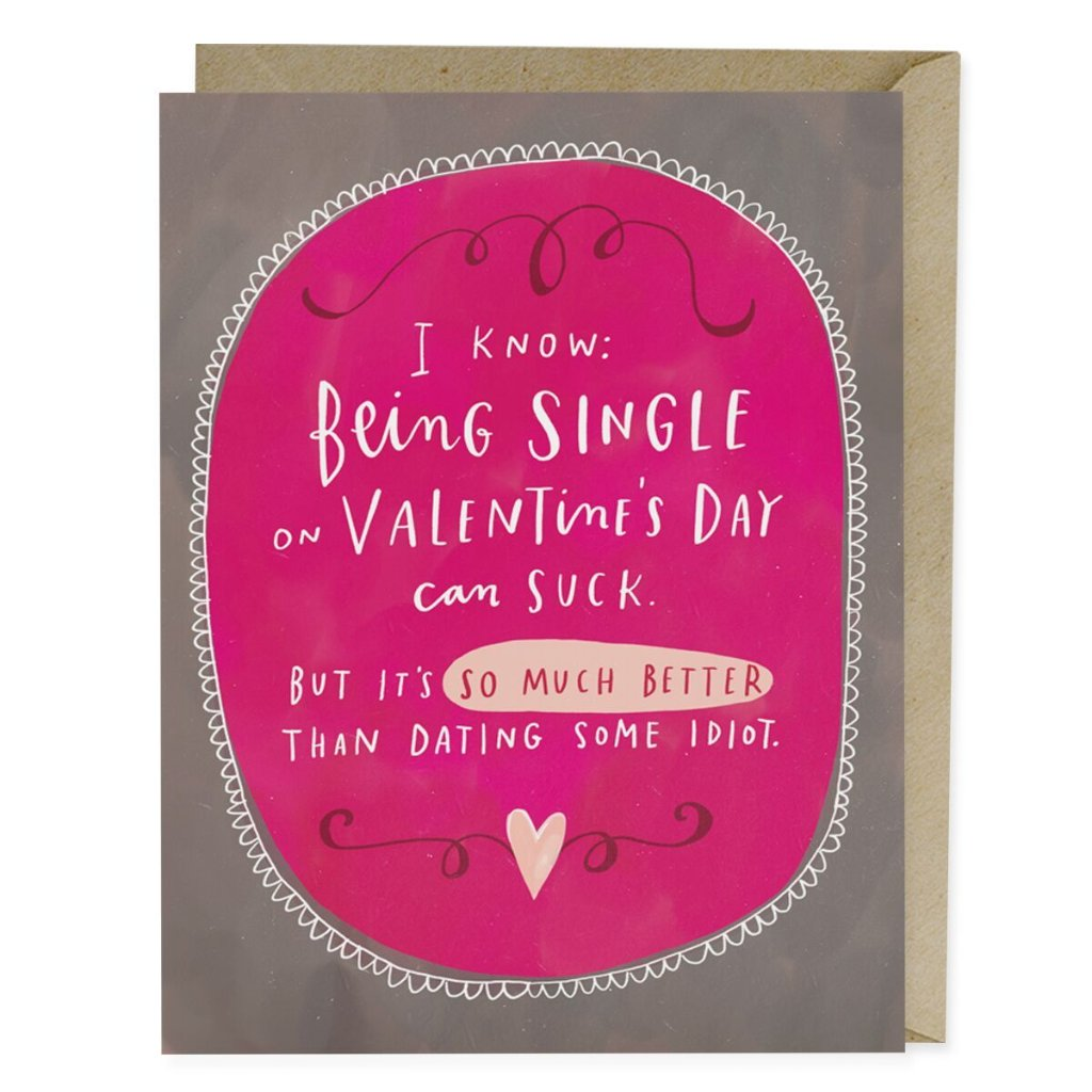 Dating Some Idiot Valentine Card - Northlight Homestore