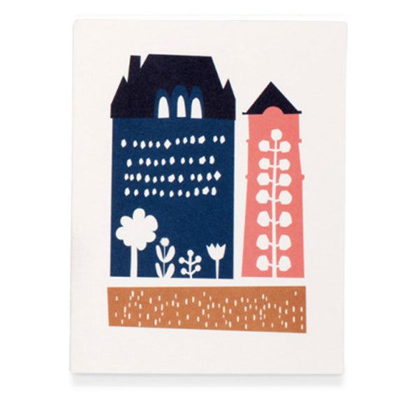 Folk & Flora - Make House a Home Greetings Card