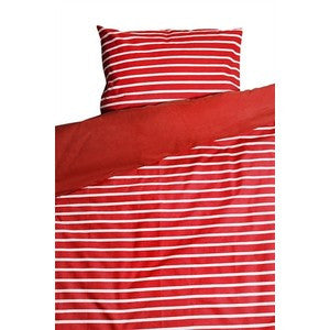 Randig Red Children's Bed Set 100 x 130cm - Northlight Homestore