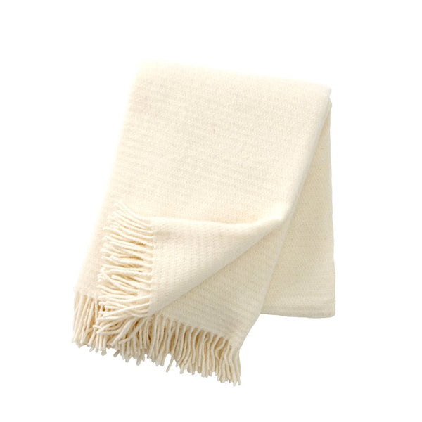 Ralph Ivory Lambswool Throw