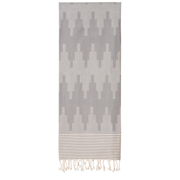 Sur La Montagne Grey Fouta - Northlight Homestore