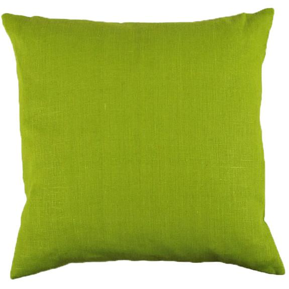 Green 48x48cm Linen Cushion Cover