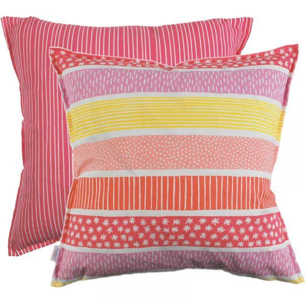 Mizu Pink 48x48cm Cotton Cushion Cover