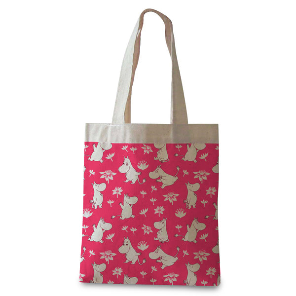 Oopsie Moomin Tote Bag Pink - Northlight Homestore