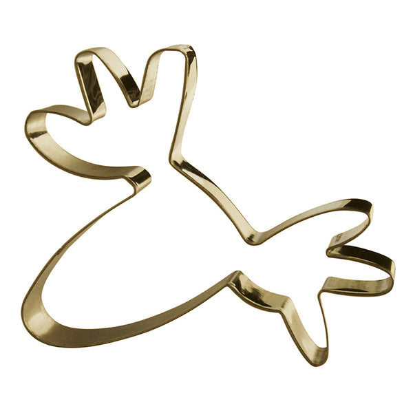 Cookie Cutter Moose Gold