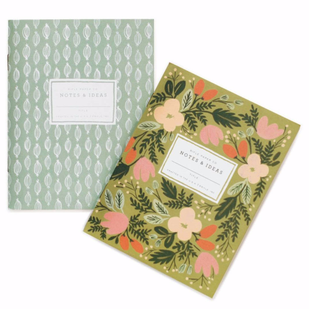 Moss Garden Pocket Notebooks - Pack of 2 - Northlight Homestore
