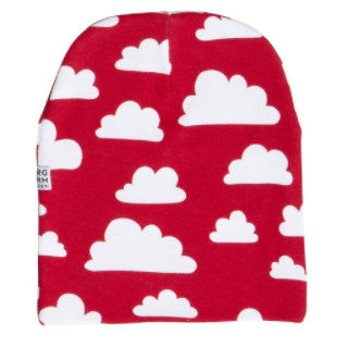 Moln Cloud Red Beanie - Various sizes - Northlight Homestore