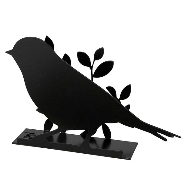 Bird Black Napkin Holder