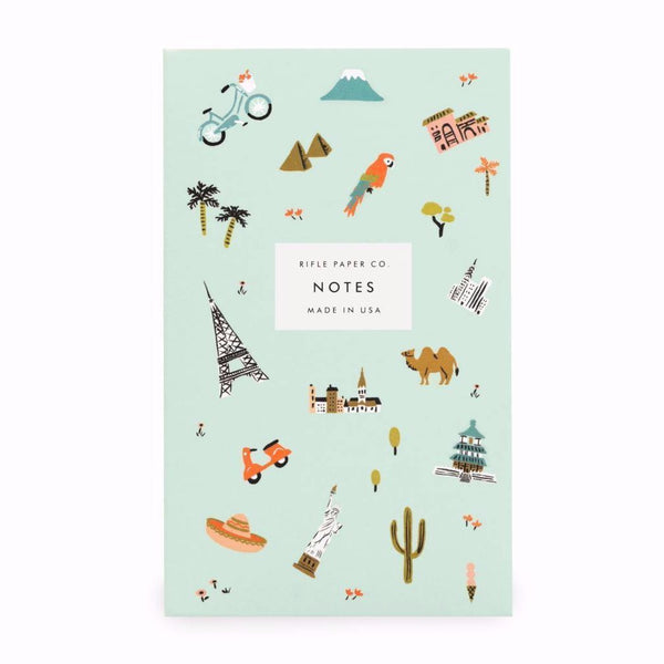 Wanderlust Pocket Notepad - Northlight Homestore