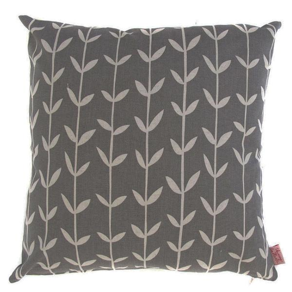 Orla Dark Grey 48x48cm Cotton Cushion Cover