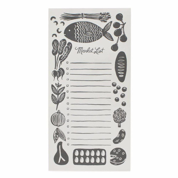 Woodblock Market Pad - Northlight Homestore