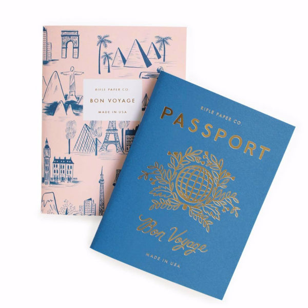 Passport Pocket Notebooks - Pack of 2 - Northlight Homestore