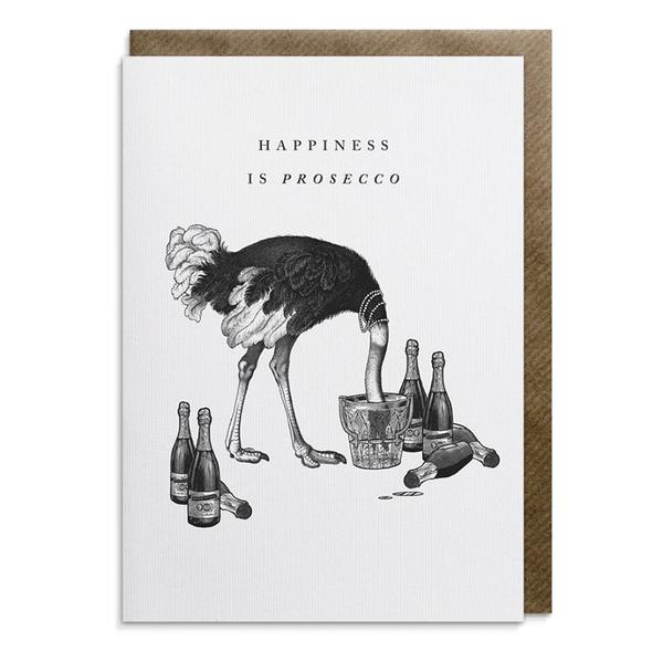 Happiness Is Prosecco Card