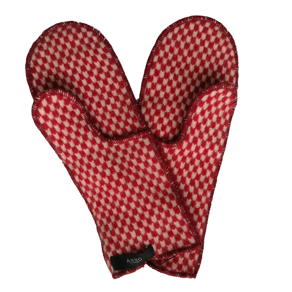Toasty Mittens - Red - Northlight Homestore