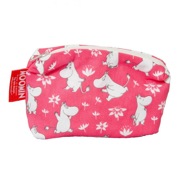 Moomin Red Make Up Bag