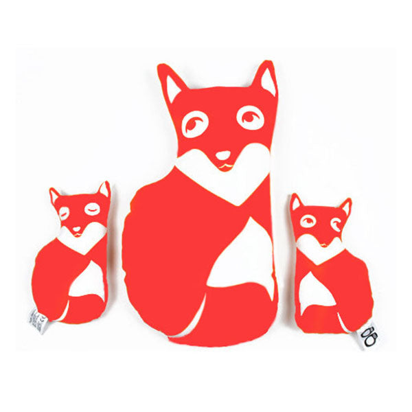 Fox Family DIY Kit Red