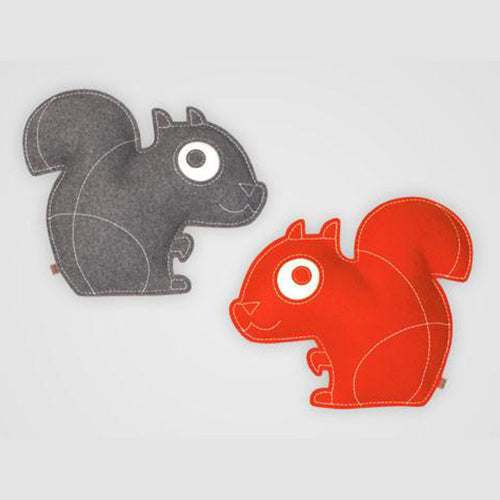 ZooperPets Squirrel Red/Grey