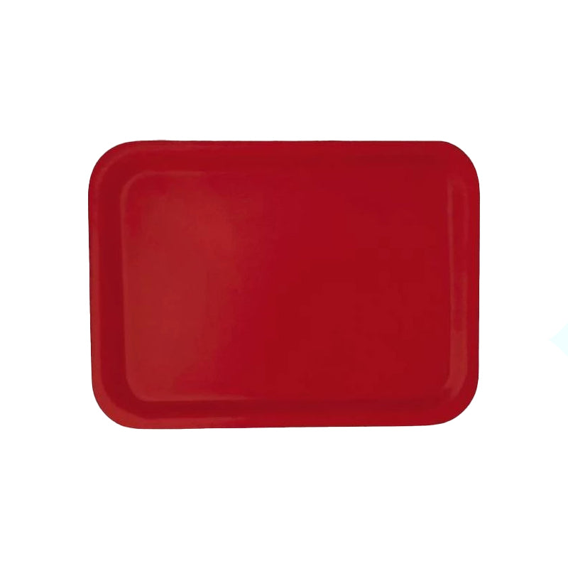 Birchwood Tray 20cx27cm Red