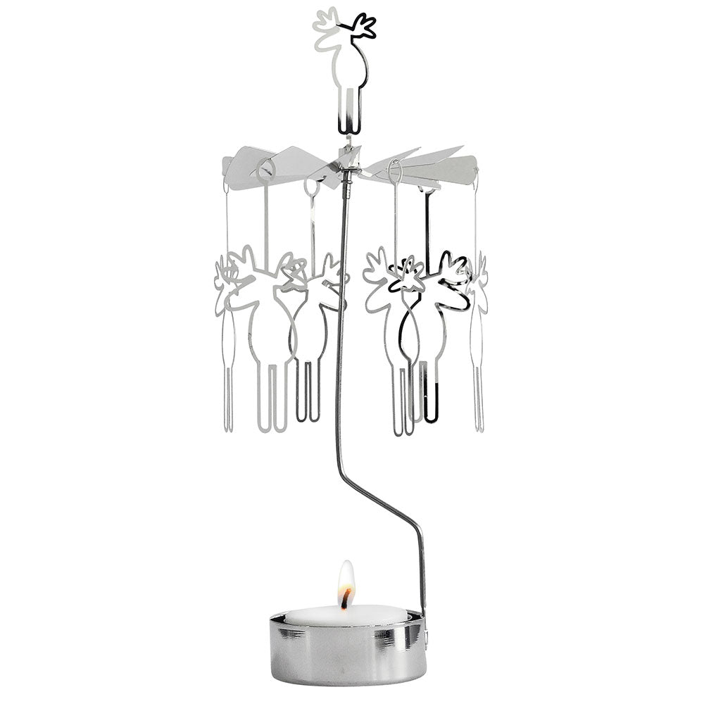 Moose Big Rotary Candle Holder - Northlight Homestore