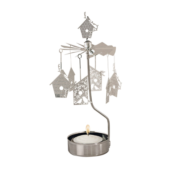 Bird House Rotary Candle Holder - Northlight Homestore