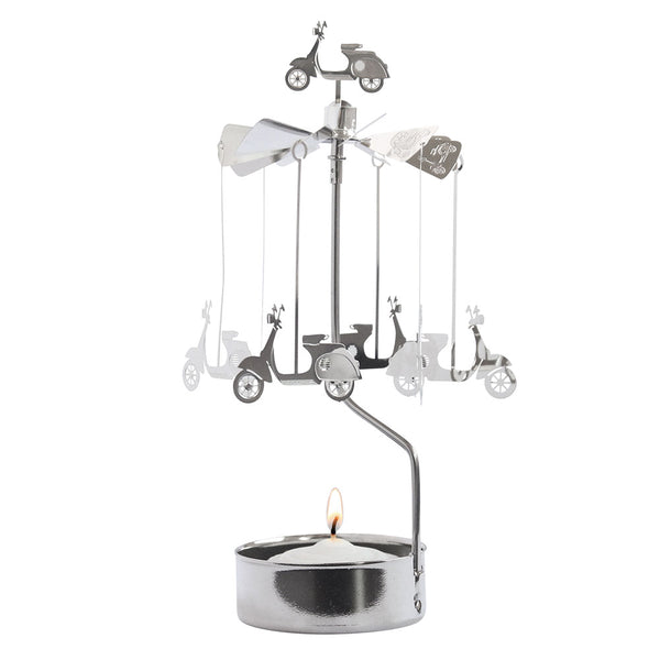 Vespa Rotary Candle Holder - Northlight Homestore