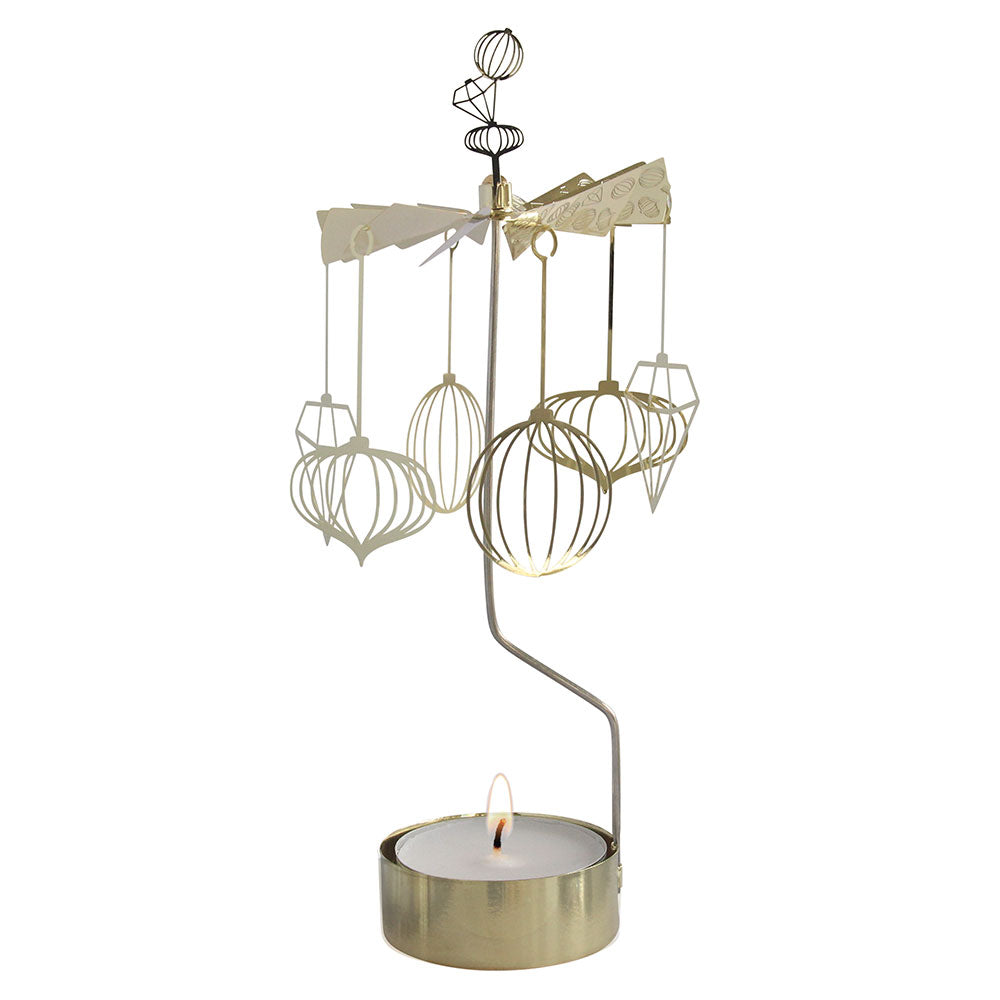 Christmas Decorations Big Rotary Candle Holder - Northlight Homestore