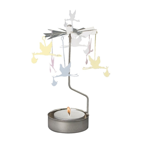 Baby Rotary Tealight Candle Holder