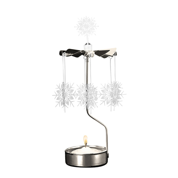 White Star Rotary Candle Holder - Northlight Homestore
