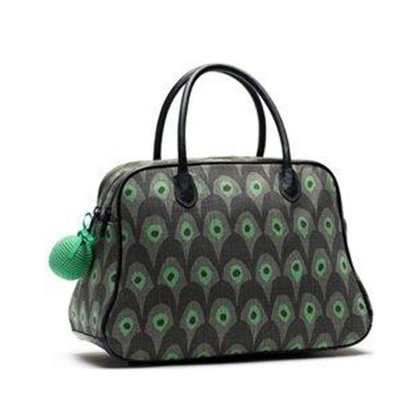 Day Bag Circus Birds Grey/Green