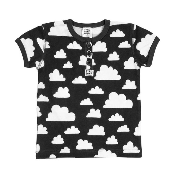 Moln Cloud Black T-Shirt - Various sizes - Northlight Homestore