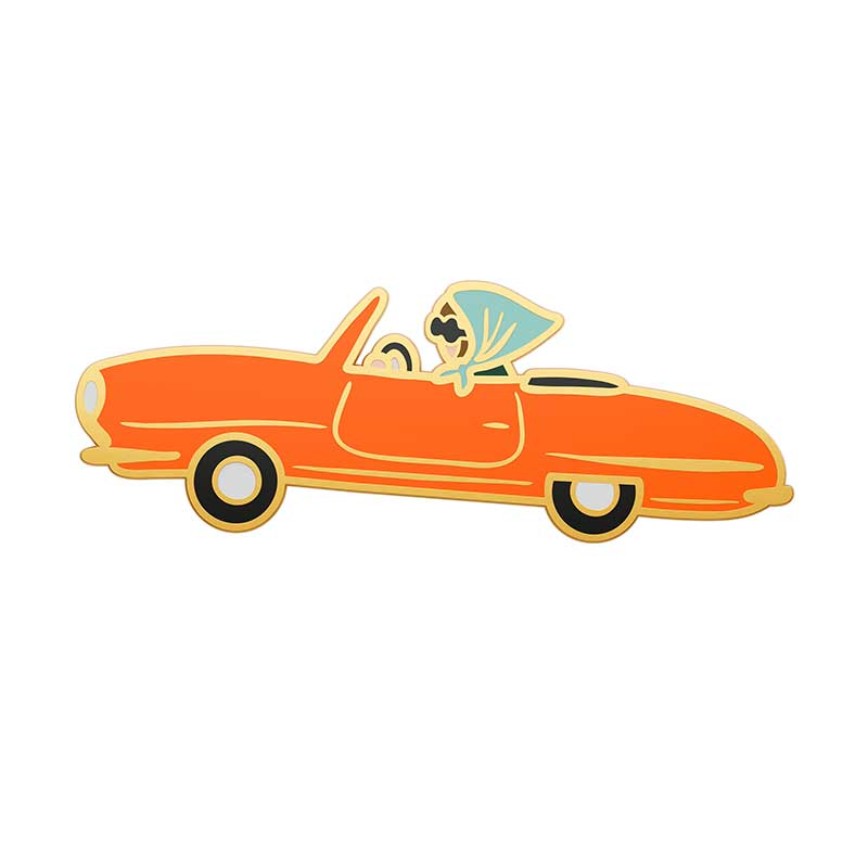 Car Enamel Pin - Northlight Homestore