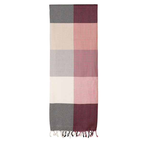 Remembering The Tartan Rose Fouta - Northlight Homestore