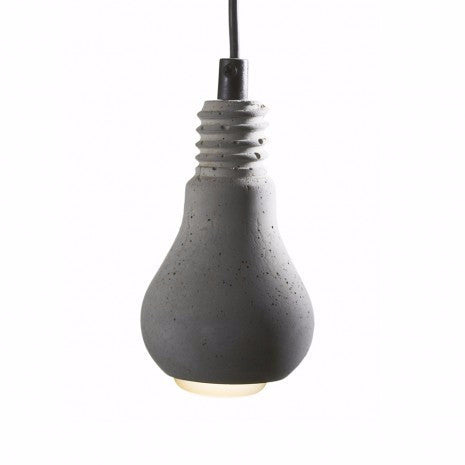 Edison Concrete Lightbulb Lamp