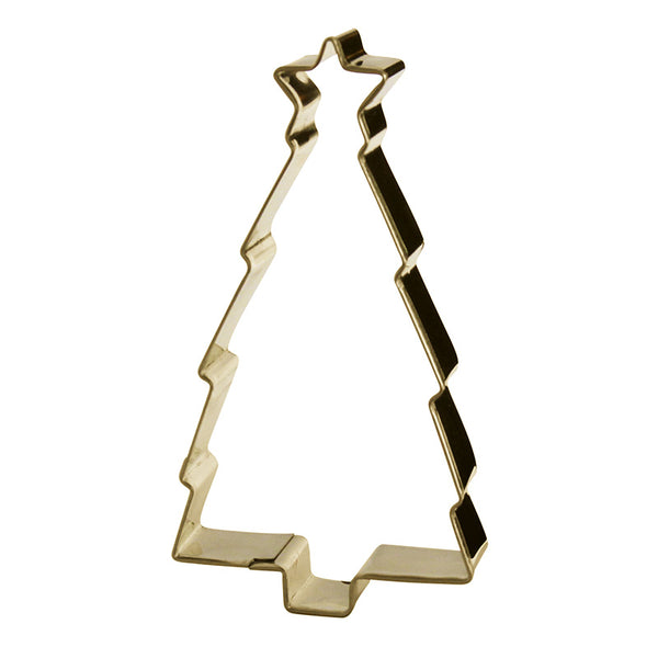 Cookie Cutter Christmas Tree Gold