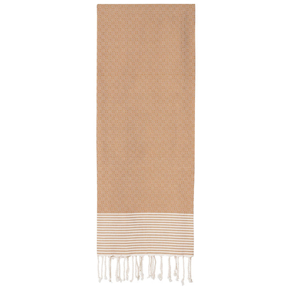Twists and Turns Moutarde Fouta - Northlight Homestore