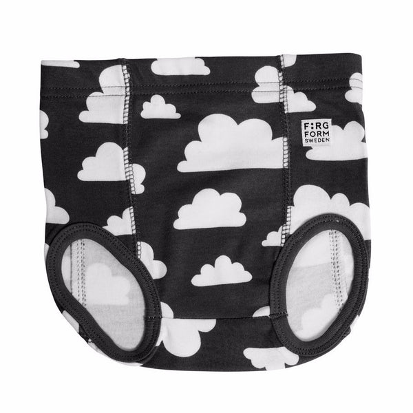 Moln Cloud Black Underpants - Various sizes