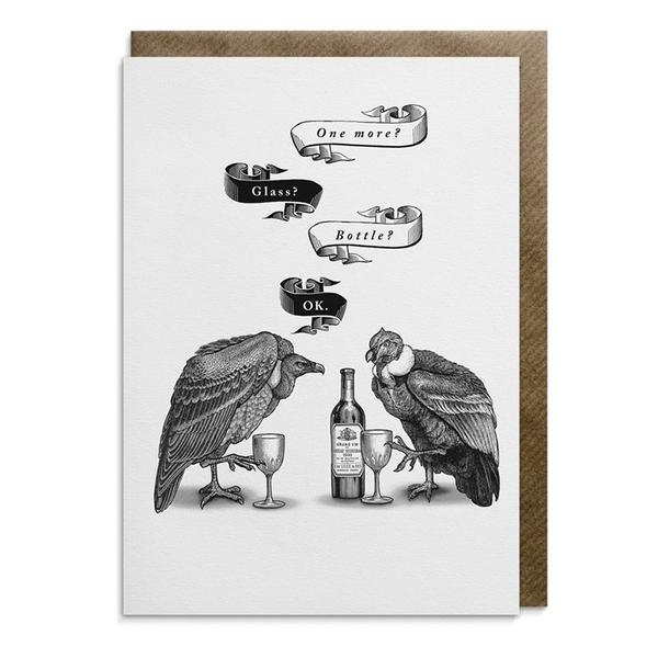 Wine Vultures Card